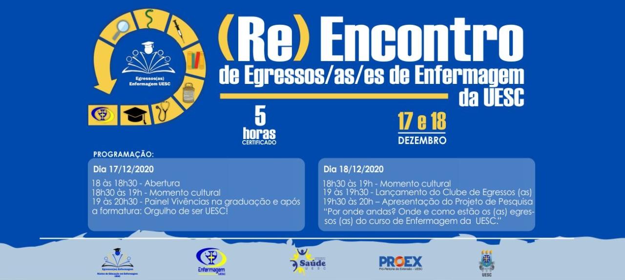 (Re) Encontro de Egressos/as/es de Enfermagem da UESC