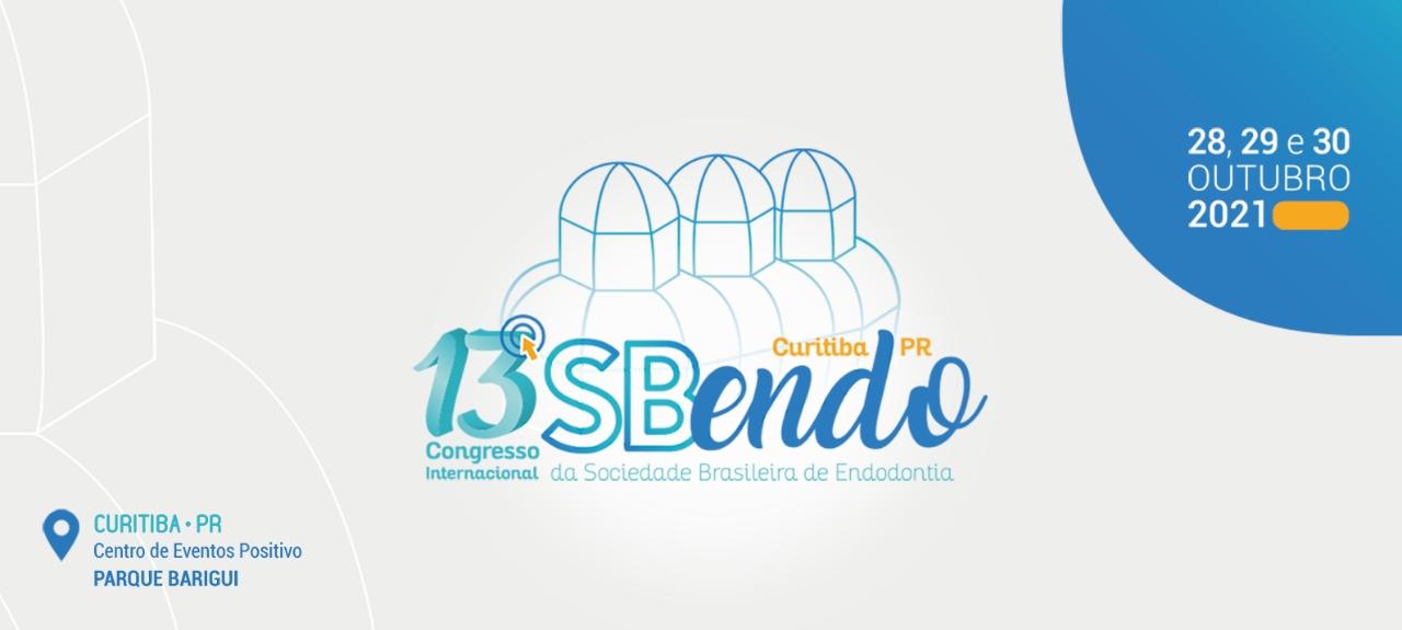 13º Congresso Internacional da Sociedade Brasileira de Endodontia