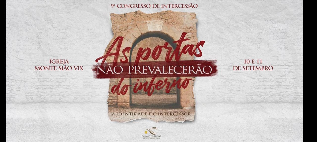 9º CONGRESSO DE INTERCESSÃO