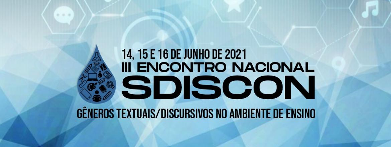 III Encontro Nacional SDISCON 2021