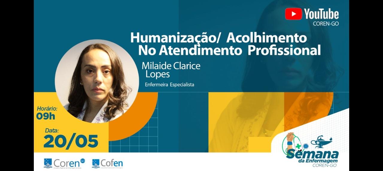 Palestra: Humanização e o Acolhimento no Atendimento do Profissional da Enfermagem