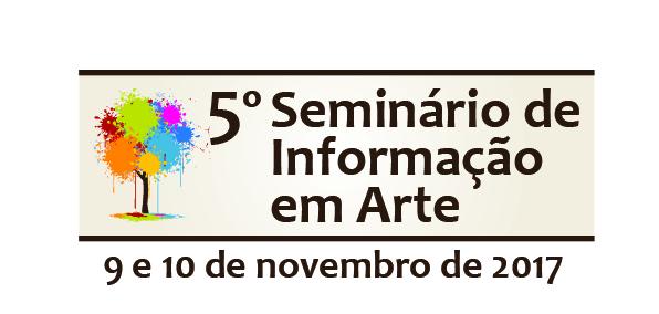 5º Seminário de Informação em Arte (2017)