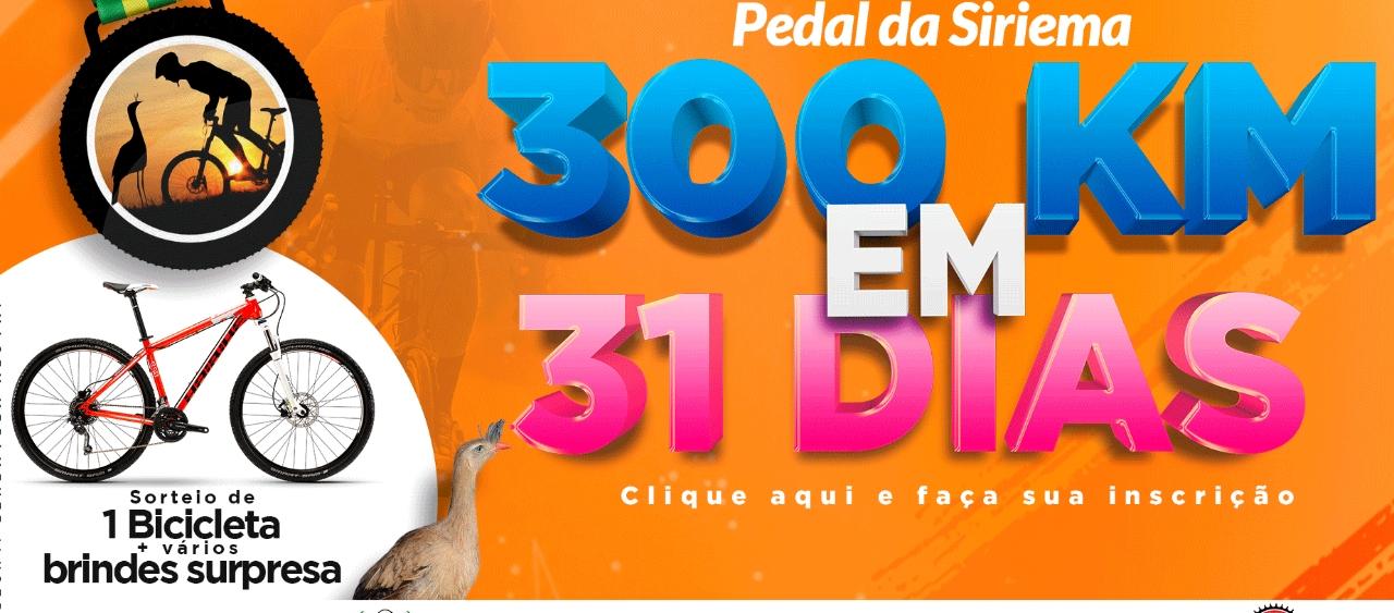 Desafio Virtual Pedal da Siriema 300k