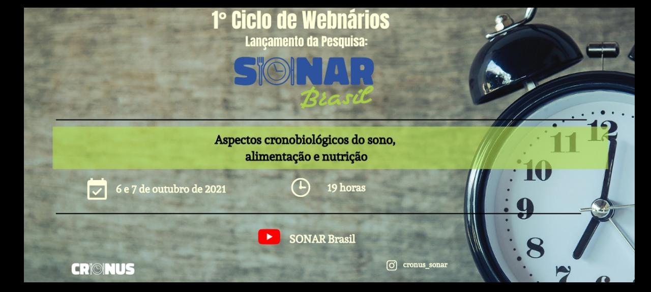 1º Ciclo de Webnários Sonar-Brasil