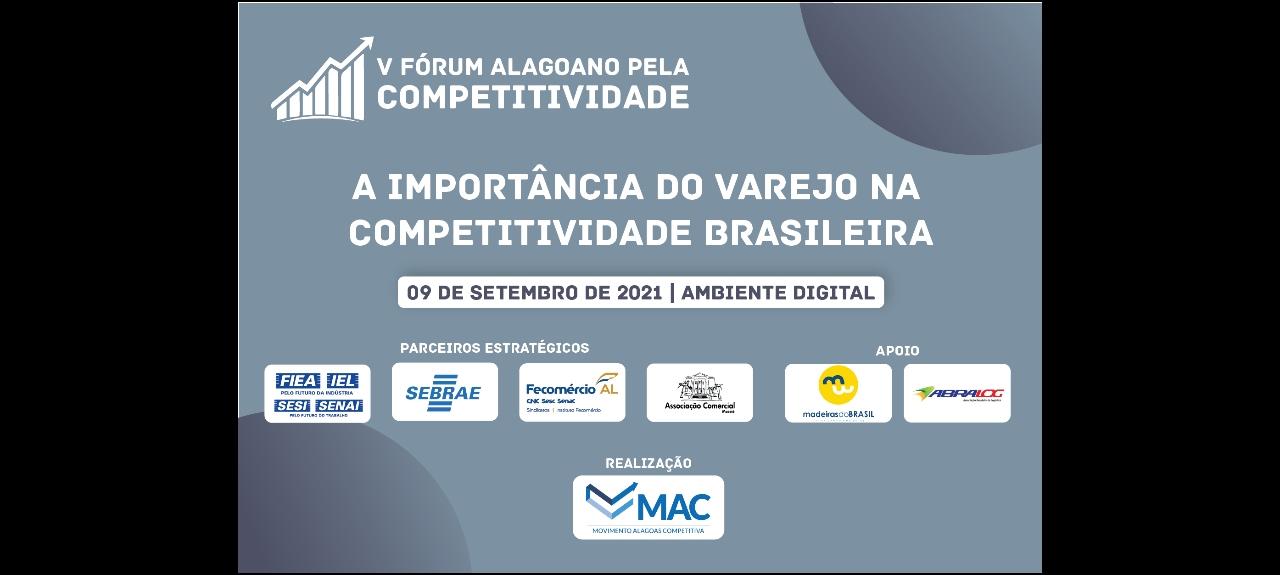 V Fórum Alagoano pela Competitividade