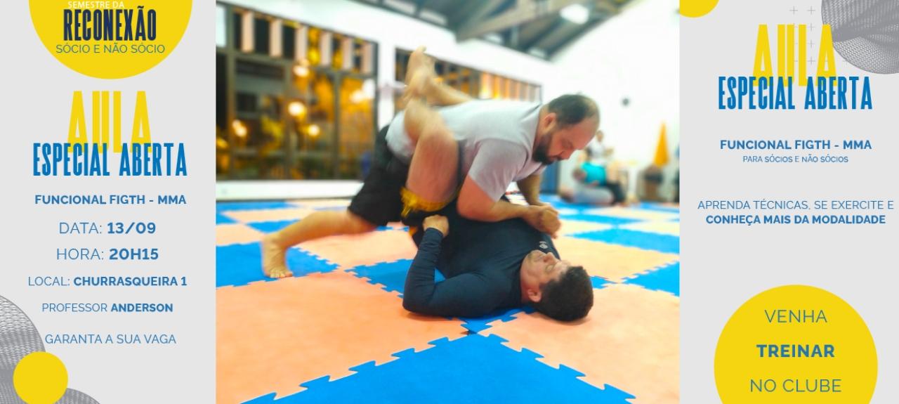 Funcional Fight - Aula Aberta de MMA
