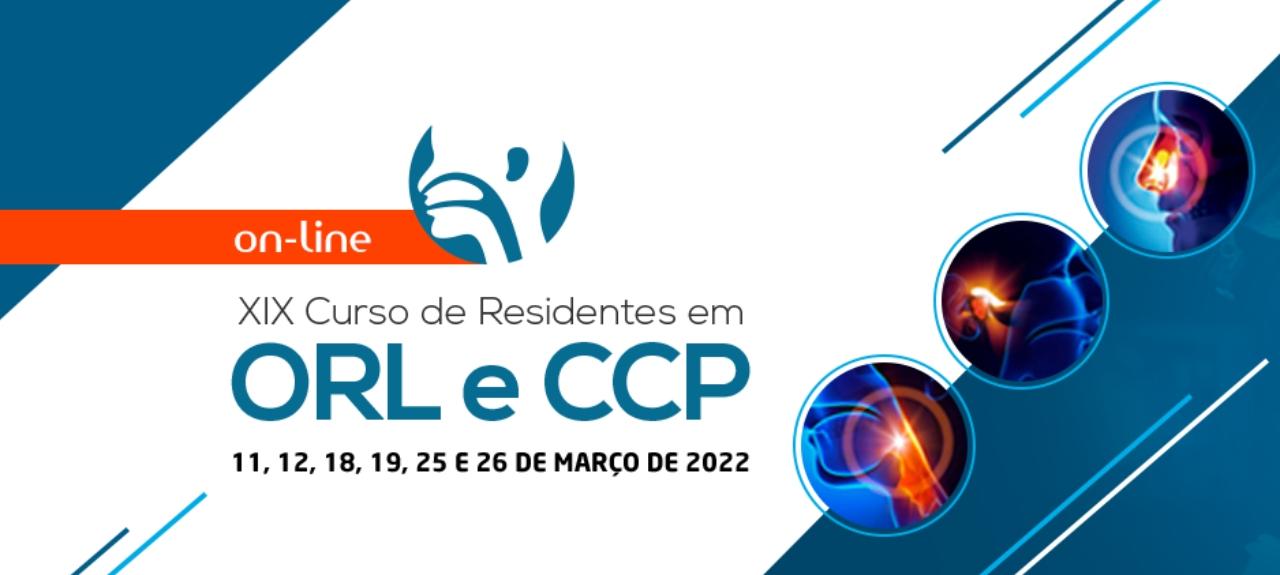 XIX CURSO DE RESIDENTES EM OTORRINOLARINGOLOGIA E CIRURGIA DE CABEÇA E PESCOÇO
