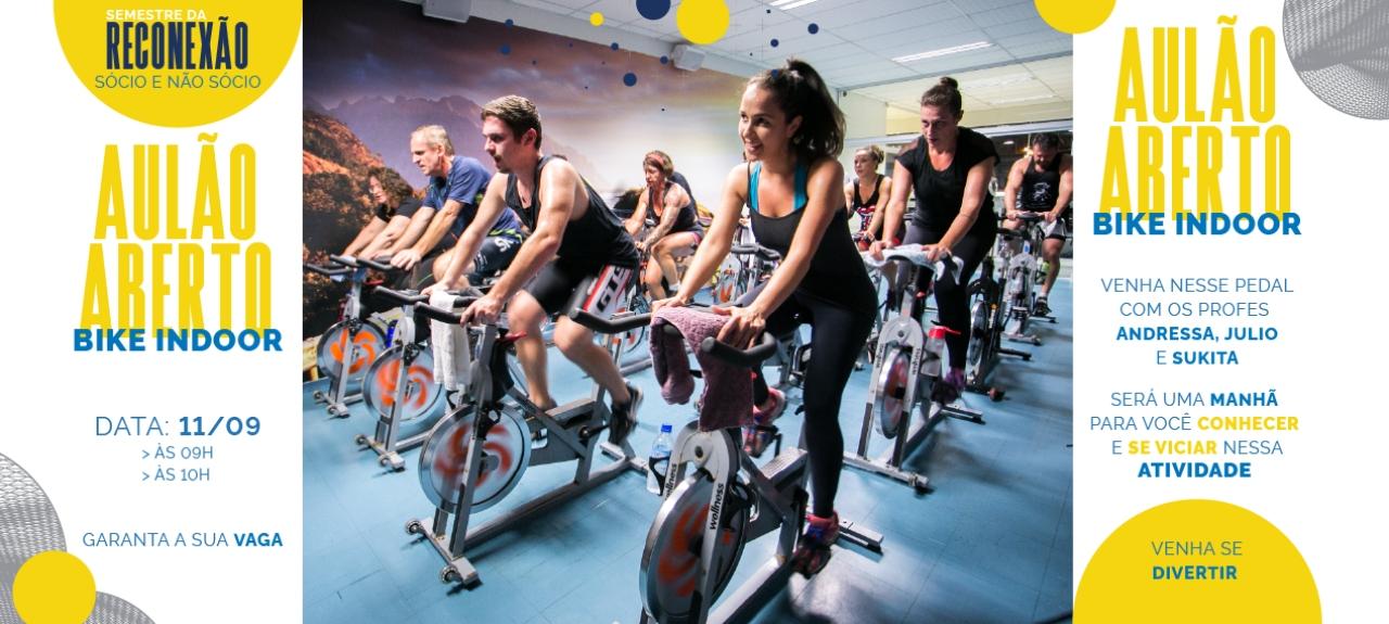 Aulão Aberto Bike Indoor