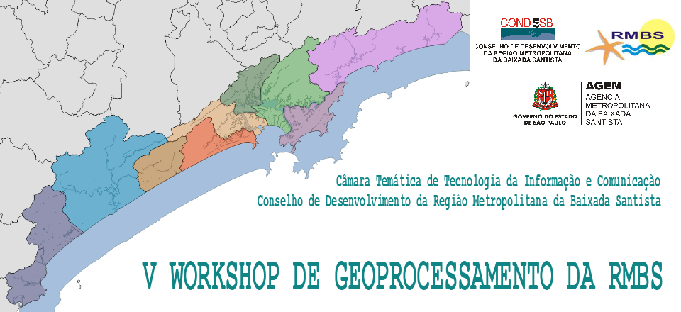V Workshop de Geoprocessamento da RMBS