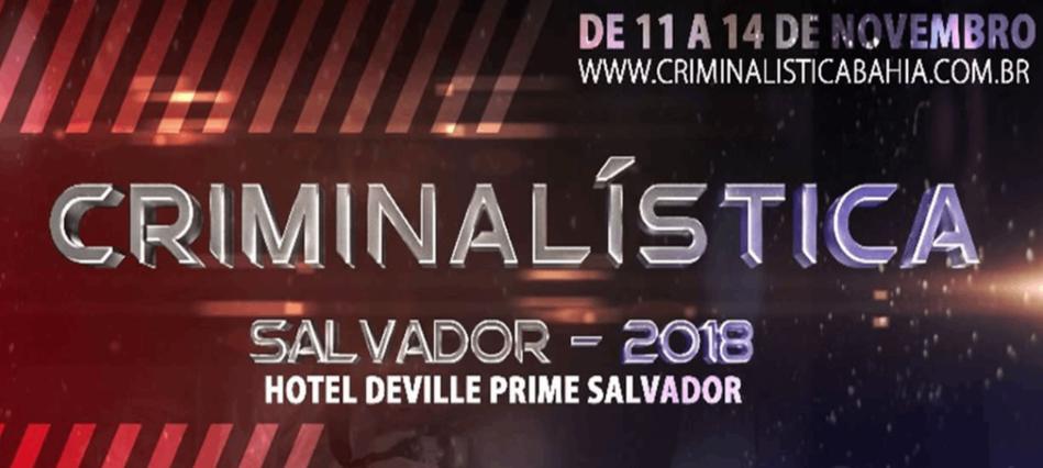 Criminalística Salvador 2018