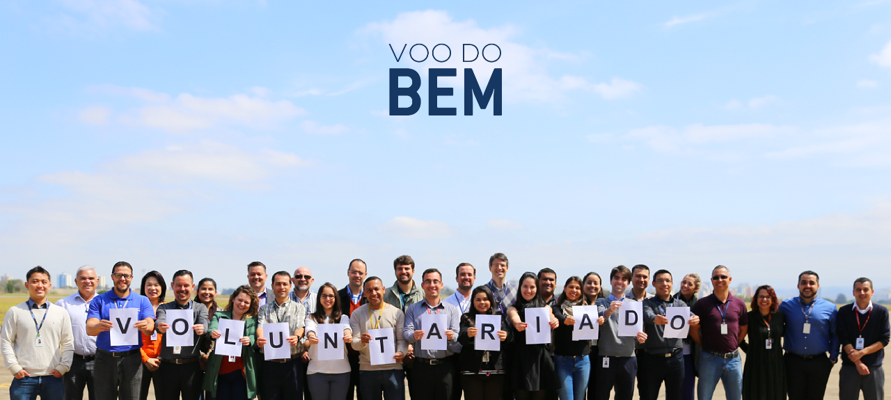 Instituto Embraer e ADCEmbraer convidam: Voo do Bem em Gavião Peixoto