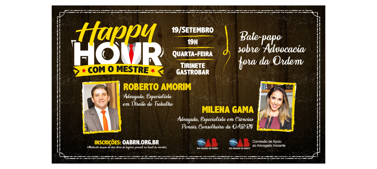 Happy Hour com o Mestre