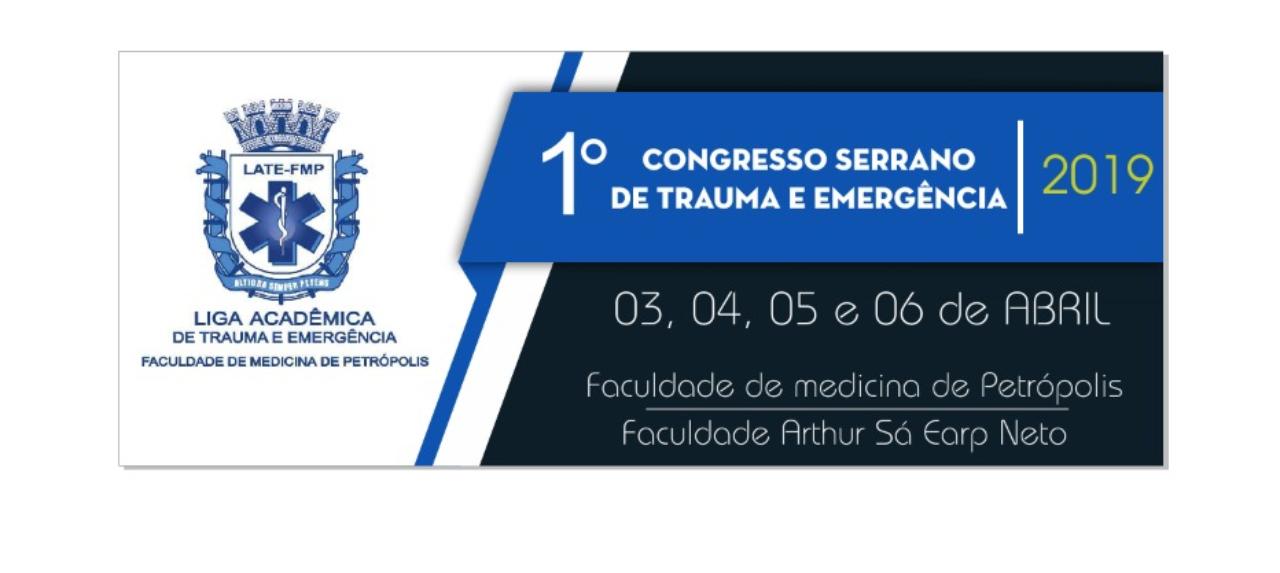 I CONGRESSO SERRANO DE TRAUMA E EMERGÊNCIA