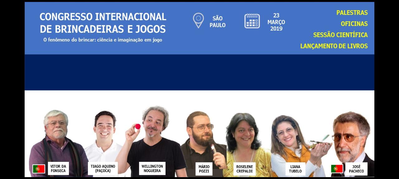 CONGRESSO INTERNACIONAL DE BRINCADEIRAS E JOGOS