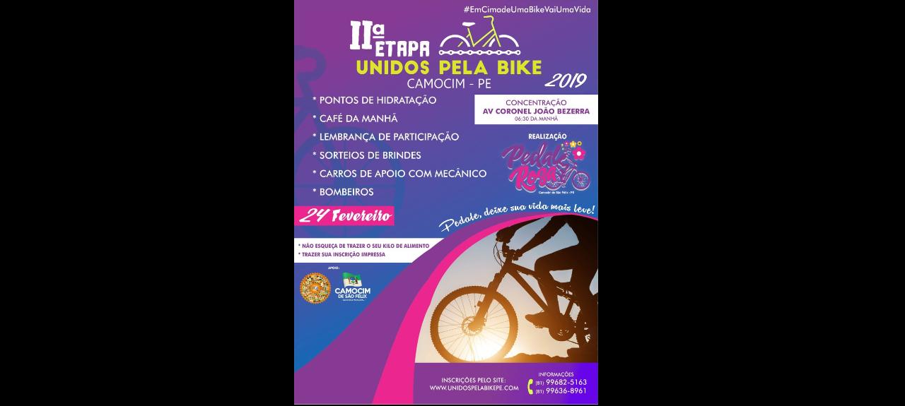 2ª ETAPA UNIDOS PELA BIKE EM CAMOCIM - PE 24/FEV/2019