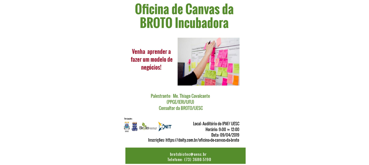 Oficina de Canvas da BROTO