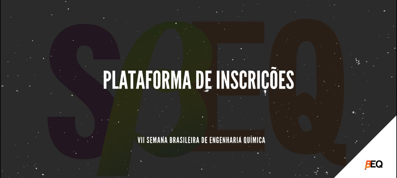VII Semana Brasileira de Engenharia Química