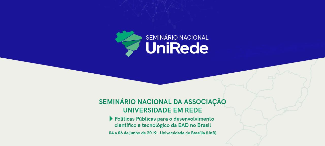 Seminário Nacional UniRede - 2019