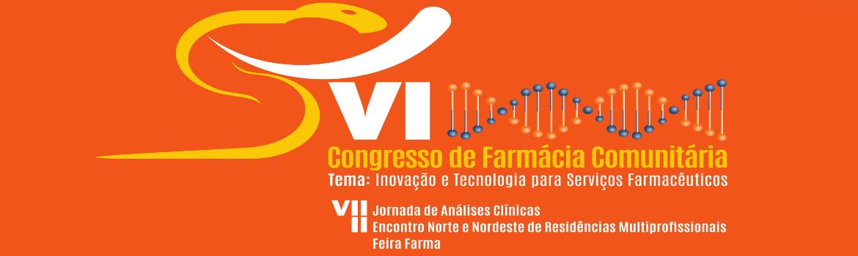 VI CONGRESSO DE FARMÁCIA COMUNITÁRIA E VII JORNADA DE ANÁLISES CLÍNICAS