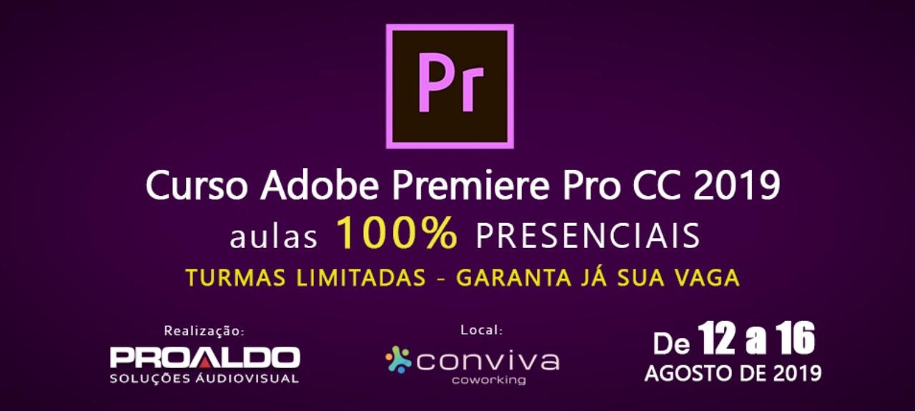 Curso de Edição de Vídeos no Adobe Premiere CC 2019