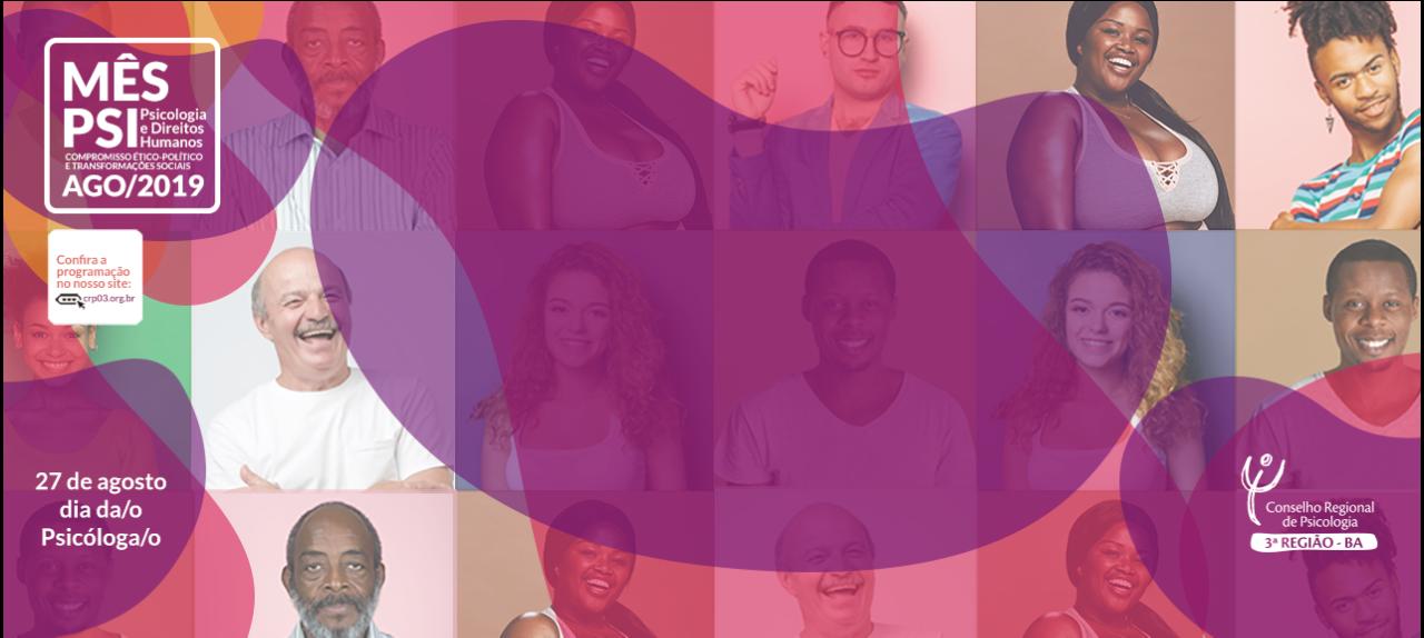Mês Psi Ilhéus 2019 - Roda de Conversa: Os Direitos Humanos nos diversos contextos de atuação da Psicologia.