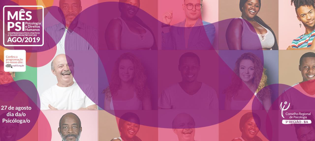 Roda de Conversa - A atuação da Psicologia frente ao Racismo e às Mudanças na Política Nacional de Saúde Mental: Direitos Humanos em pauta