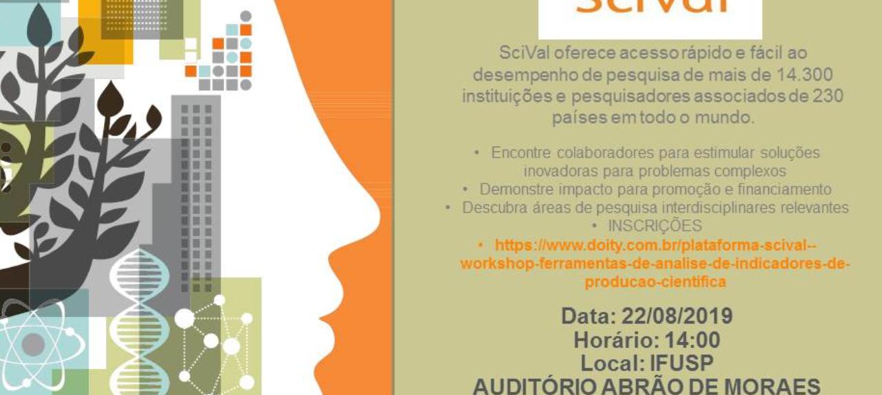Plataforma SciVal -  workshop ferramentas de análise de indicadores de produção científica