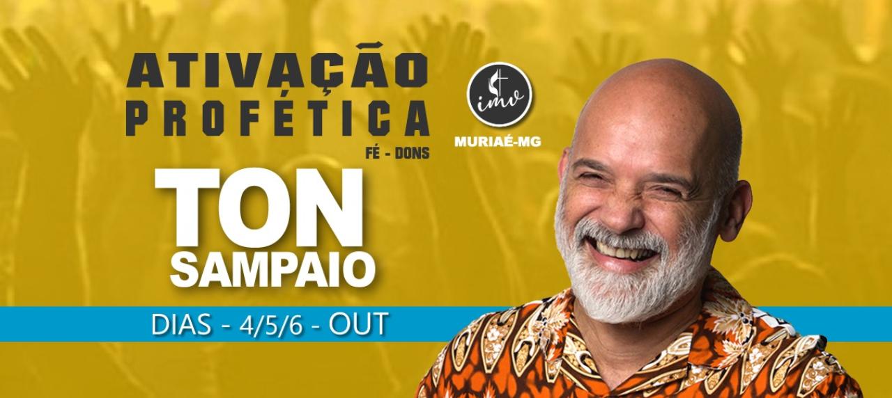 Ativação Profética Tom Sampaio