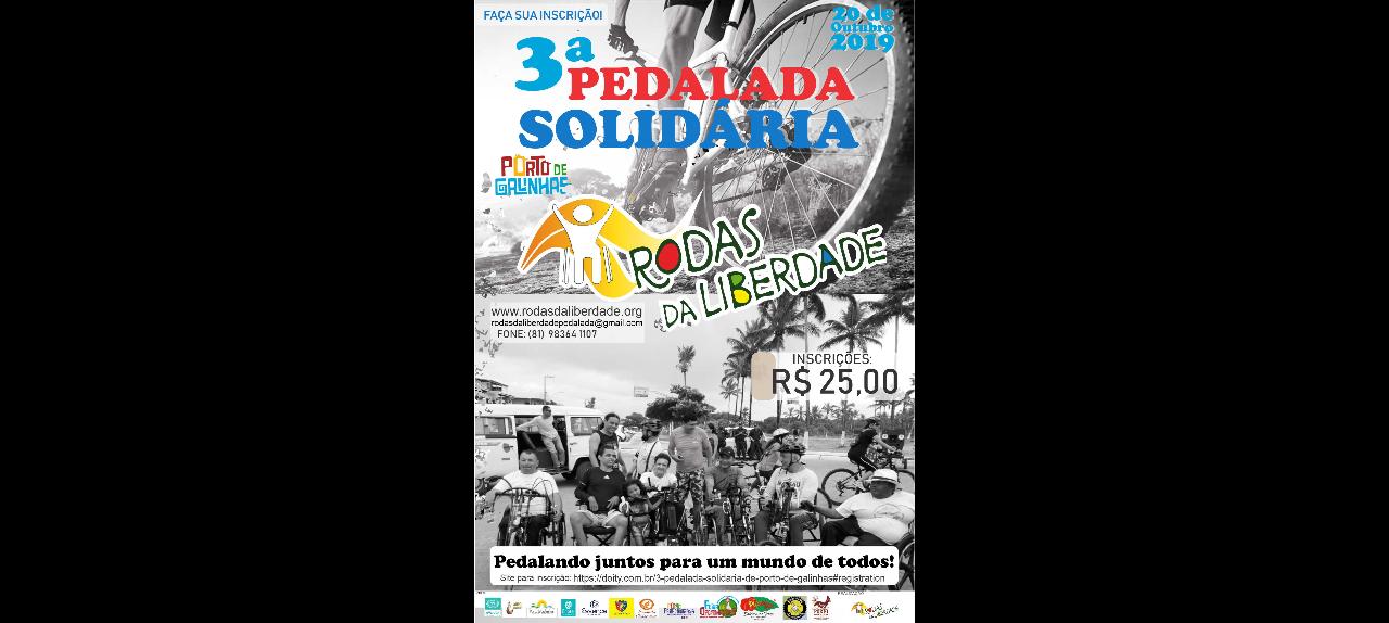 3ª PEDALADA SOLIDARIA DE PORTO DE GALINHAS