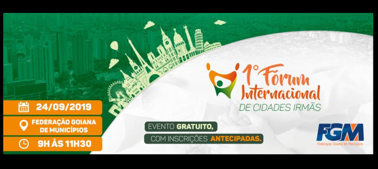 1º Fórum Internacional de Cidades Irmãs