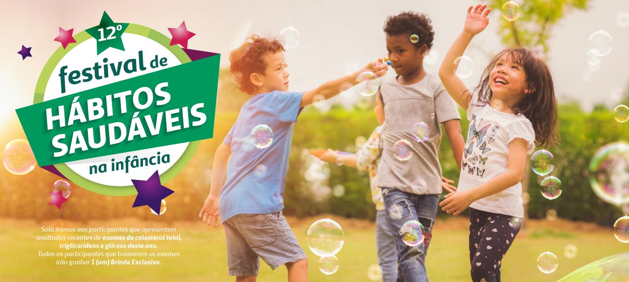 12º Festival de Hábitos Saudáveis na Infância