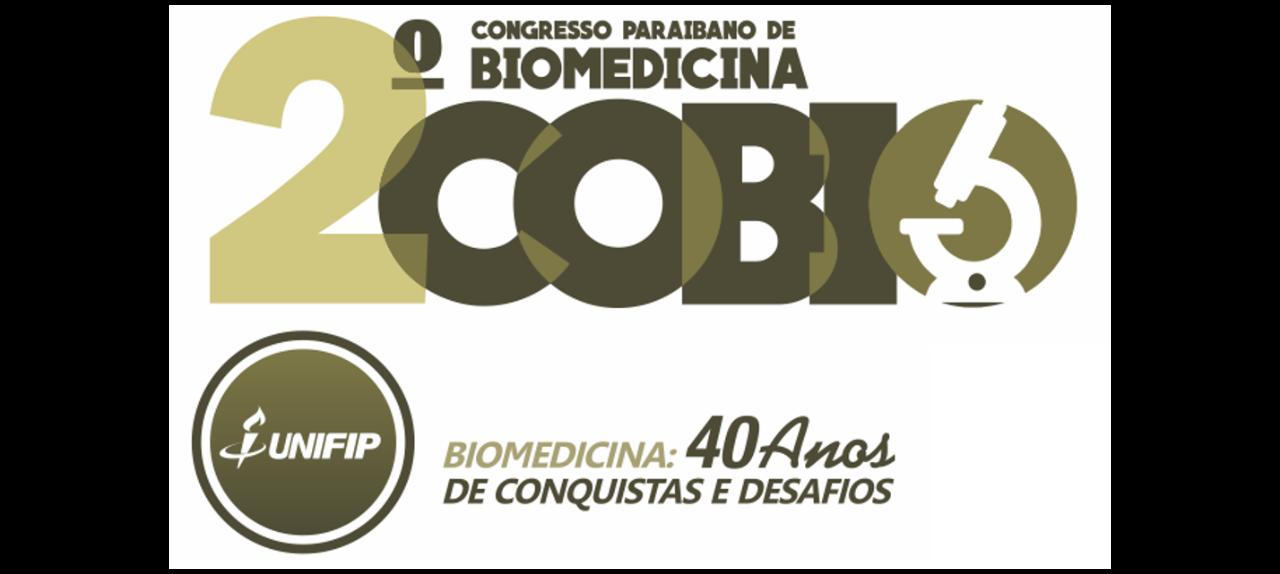 2º COBIO UNIFIP - CONGRESSO PARAIBANO DE BIOMEDICINA