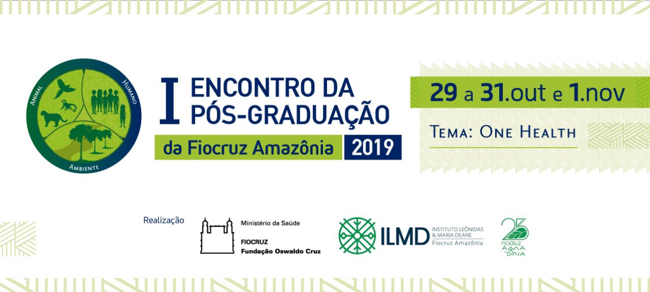 I Encontro de Pós-Graduação do ILMD