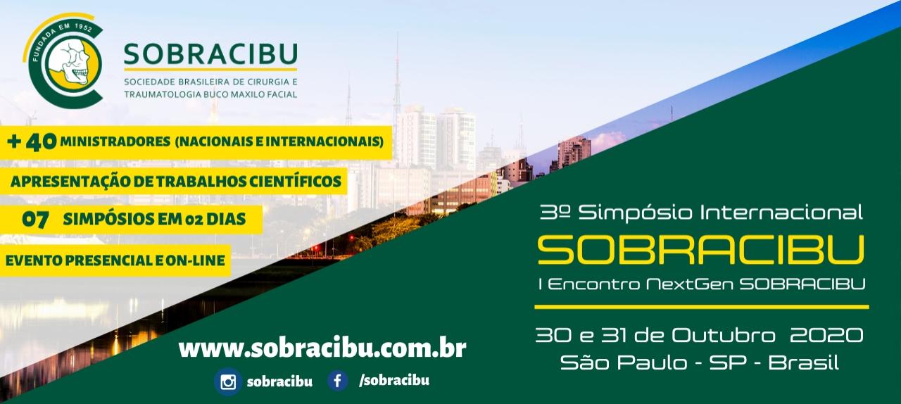 3º Simpósio Internacional de Cirurgia e Traumatologia BucoMaxiloFacial da SOBRACIBU