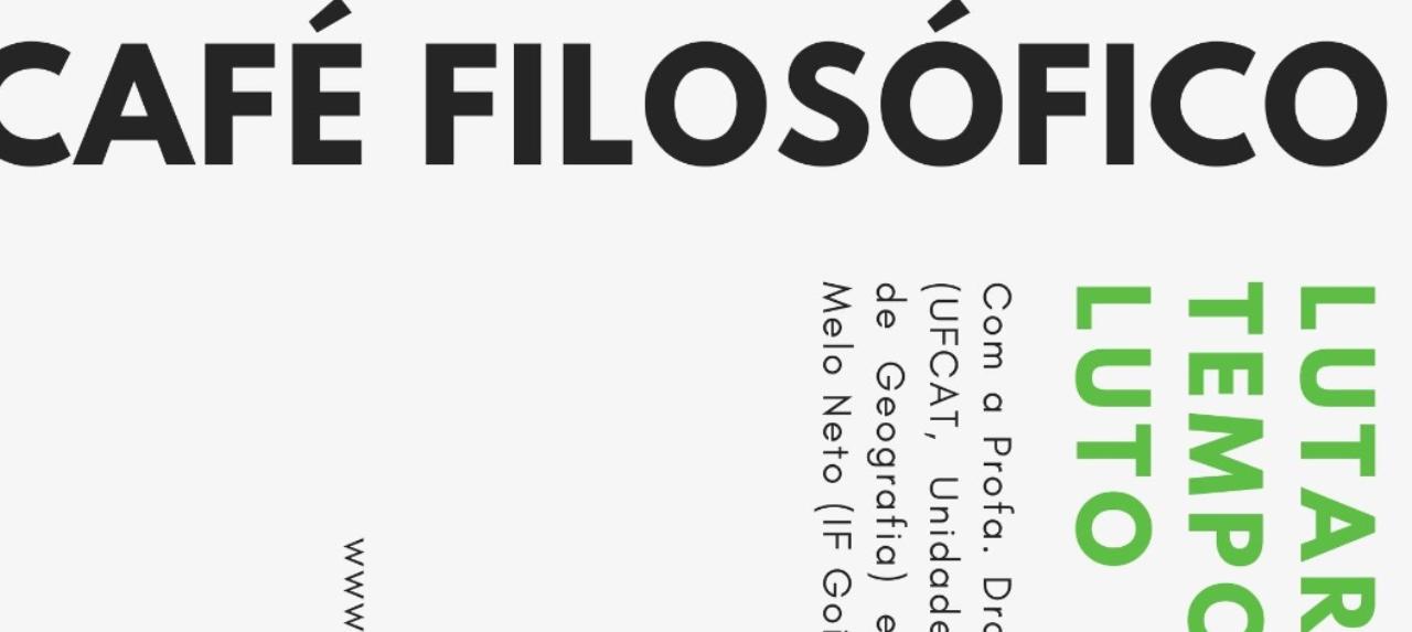 Café Filosófico - Edição Novembro