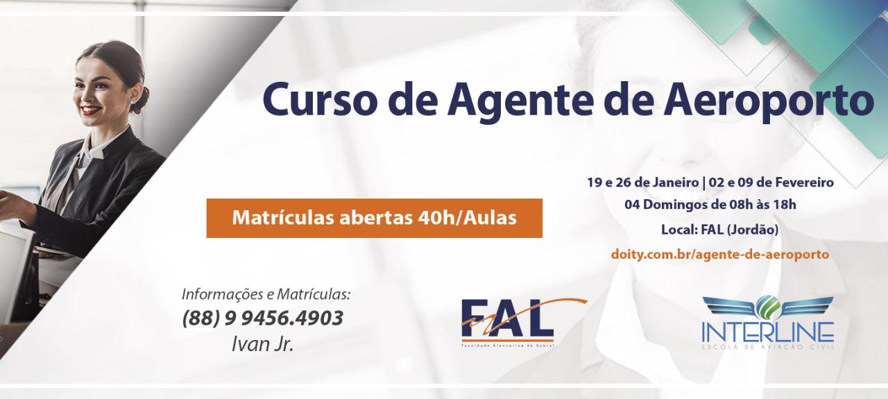 CURSO PREPARATÓRIO - AGENTE DE AEROPORTO