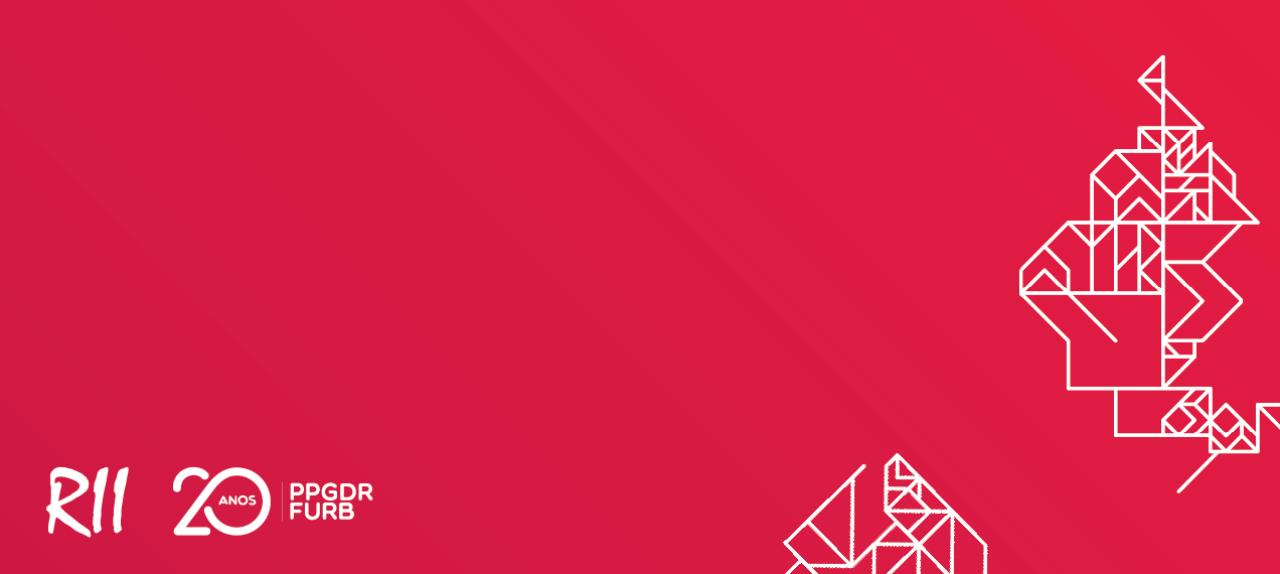 XVI Seminario Internacional de la Red Iberoamericana de Investigadores sobre Globalización y Territorio