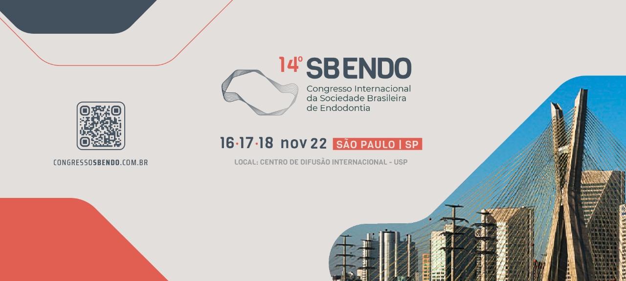 12º Congresso Internacional da Sociedade Brasileira de Endodontia - SBENDO