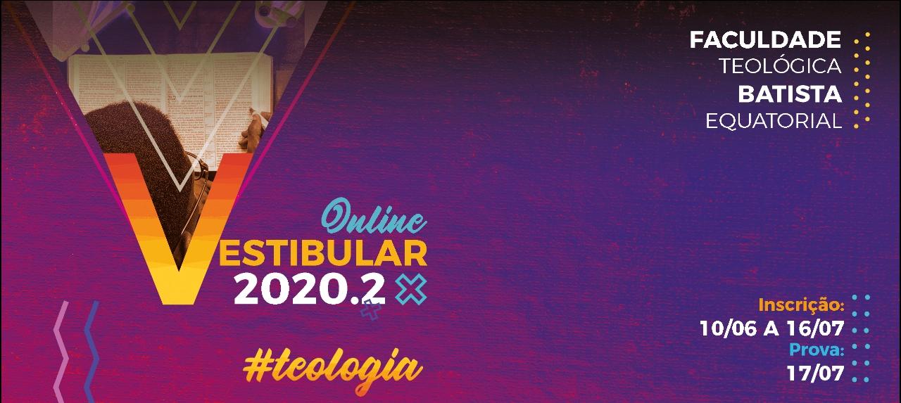 Inscrição - Vestibular 2020.2
