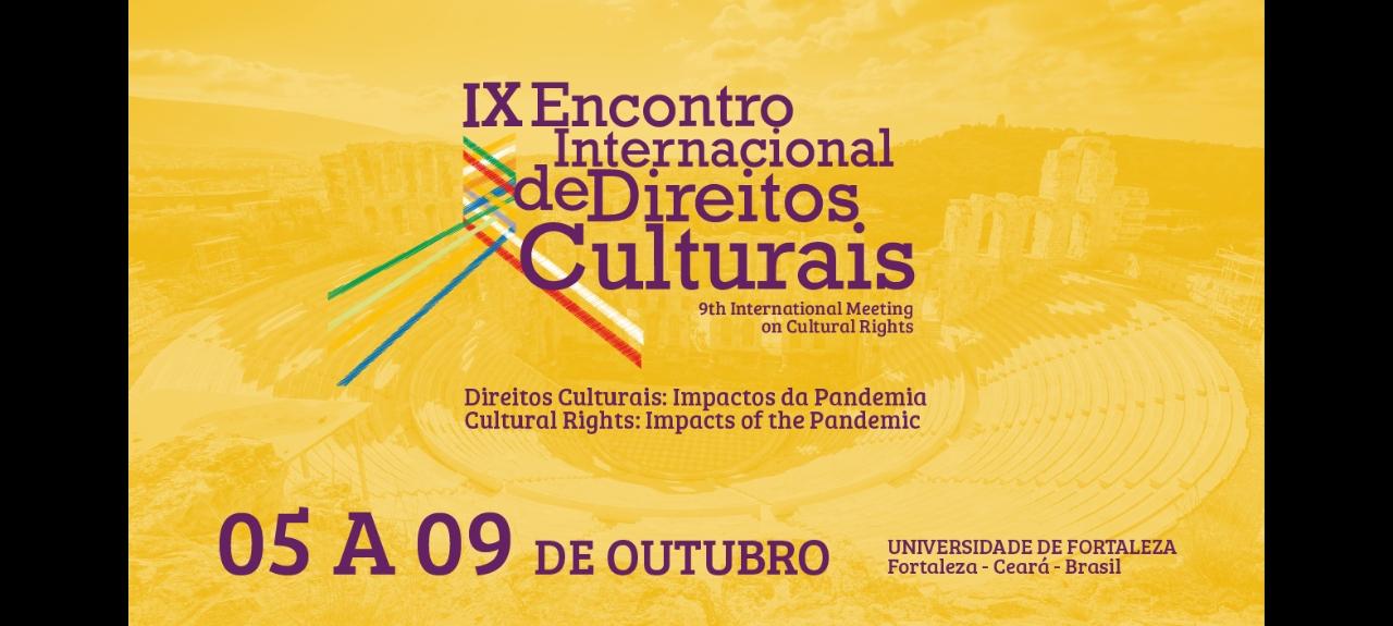 IX Encontro Internacional de Direitos Culturais