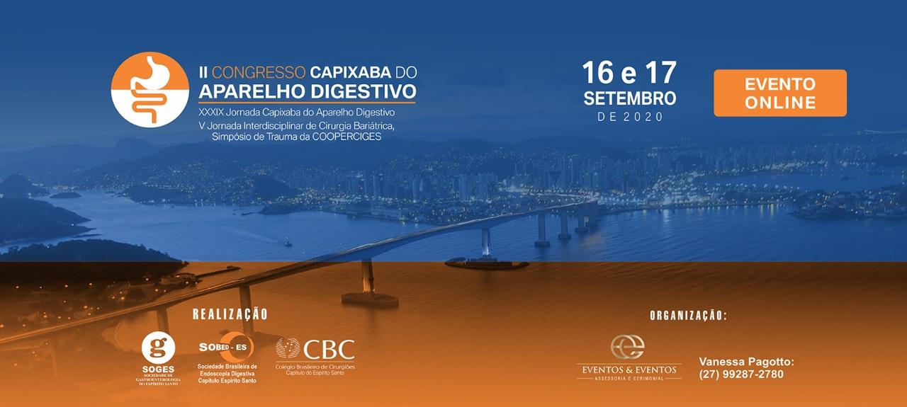 II CONGRESSO CAPIXABA DO APARELHO DIGESTIVO