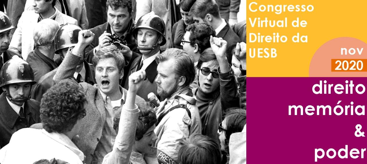 Congresso Virtual de Direto da UESB - Direito, Memória e Poder