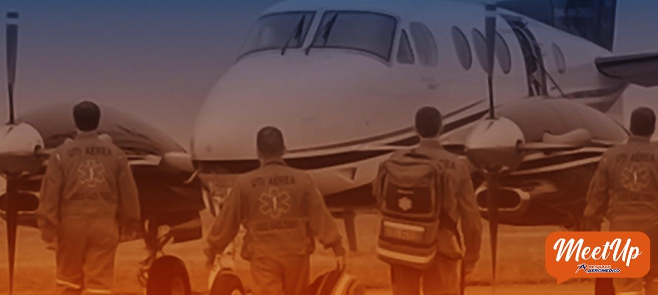 Transporte Aeromédico de Paciente Crítico em Aeronave de Asa Fixa