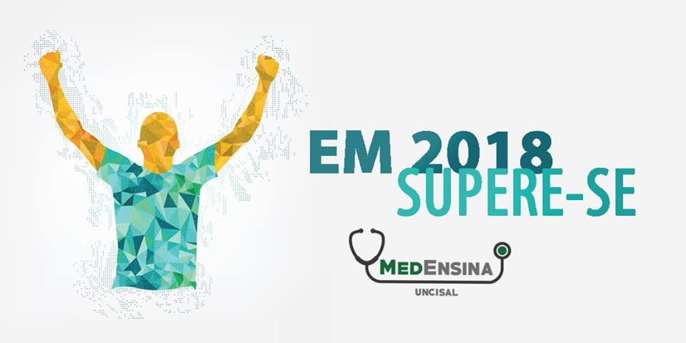 Seleção de alunos MedEnsina 2018 - Prova dia 25/02 - Domingo