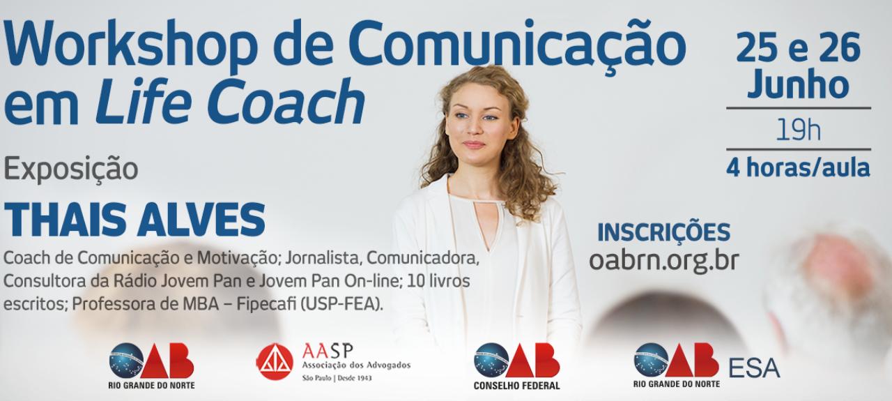 Workshop de comunicação em Life Coach
