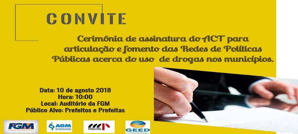 CERIMÔNIA DE ASSINATURA DO ACORDO DE COOPERAÇÃO TÉCNICA