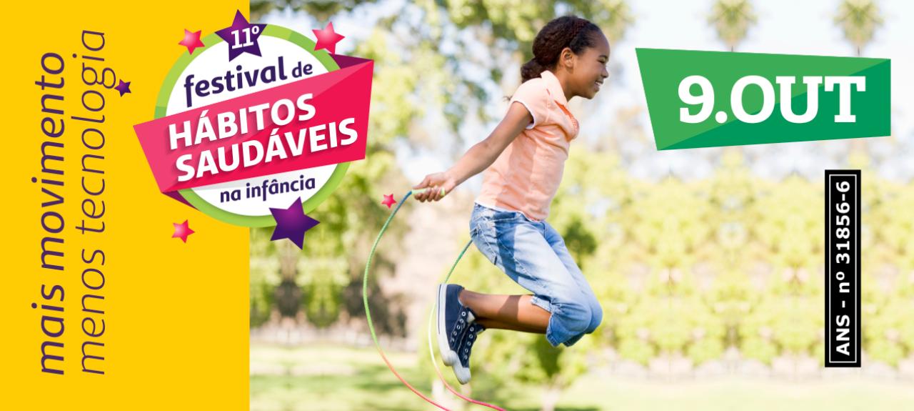 11º Festival de Hábitos Saudáveis na Infância