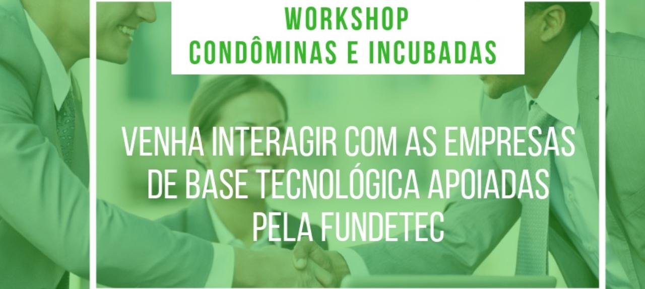 3º Workshop de Empresas Incubadas e Condôminas