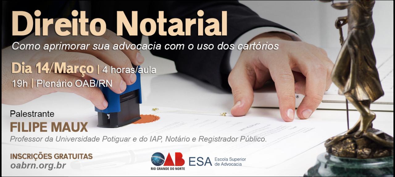 Workshop sobre os serviços notários para advogados