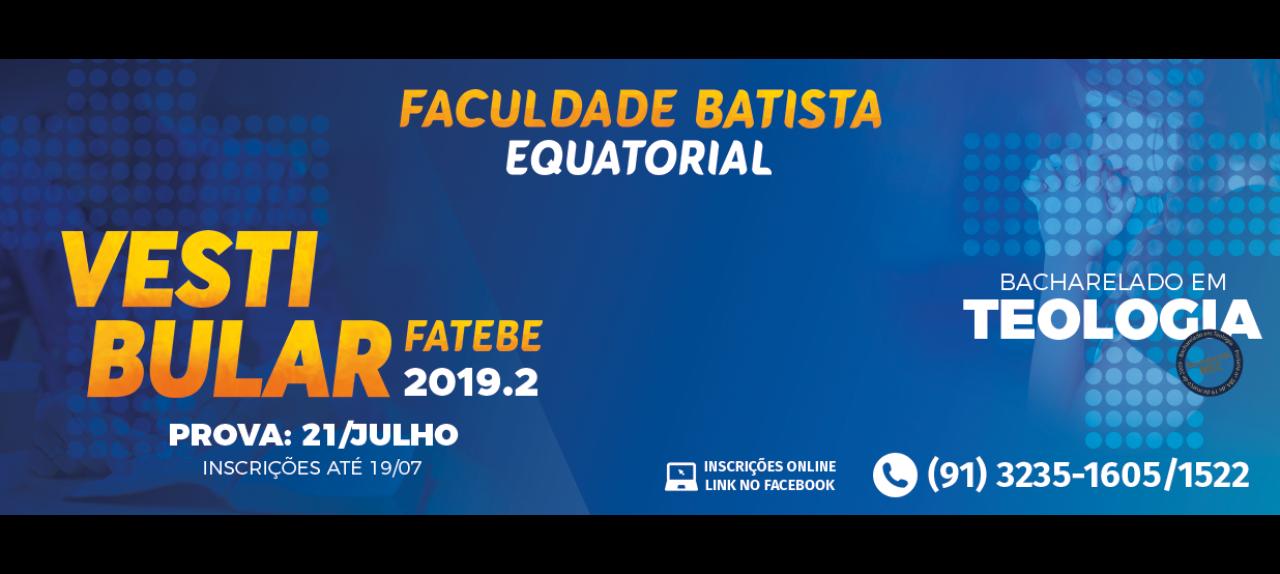 Vestibular FATEBE 2019.2